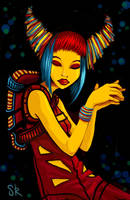 dreamspace traveller by Pokoa
