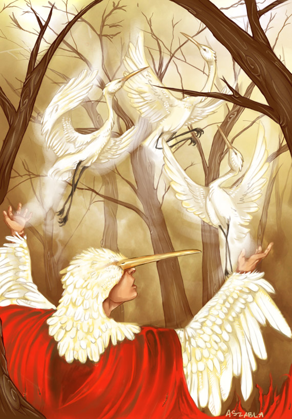 Egrets, Regrets by Nhaar
