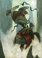 The Riders of Inis Gryn by Nhaar