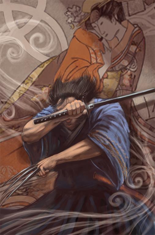 Wolverine: Netsuke by Nhaar