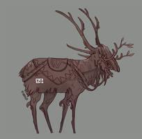 Reindeer by Nhaar