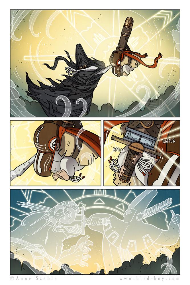 Bird Boy page 72 by Nhaar