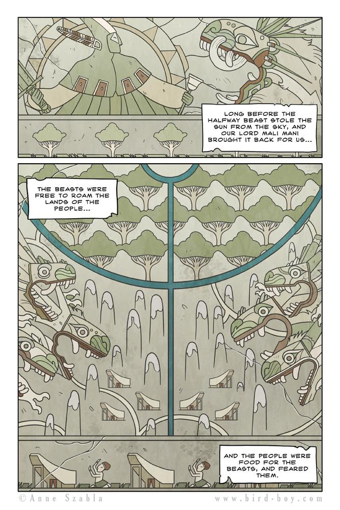 Bird Boy Volume II Page 1 by Nhaar