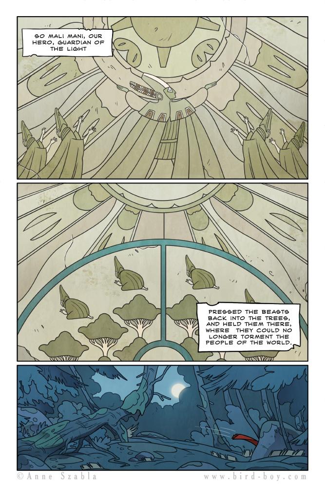 Bird Boy Volume II Page 3 by Nhaar