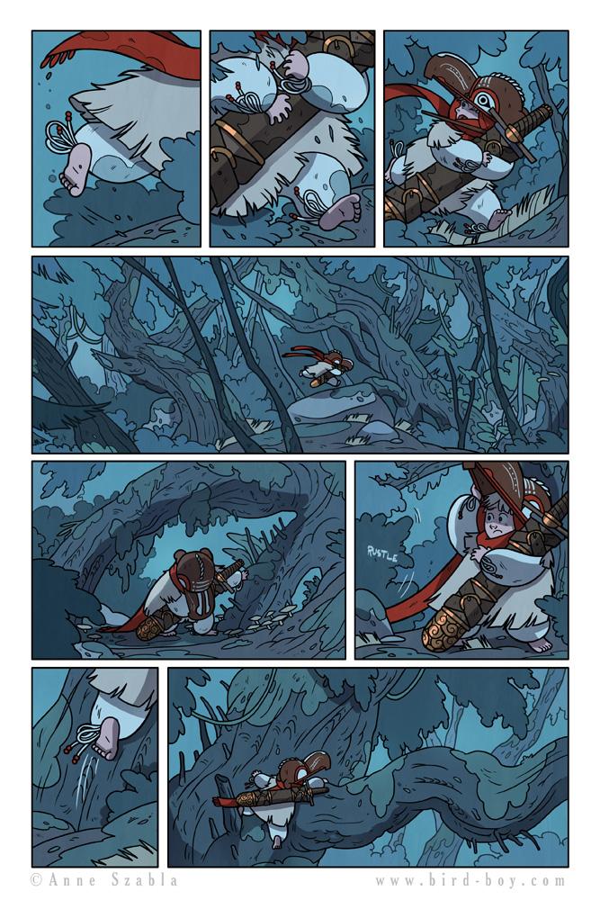 Bird Boy Volume II Page 4 by Nhaar