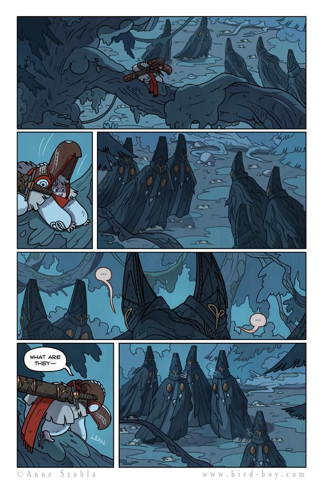 Bird Boy Volume II Page 5 by Nhaar