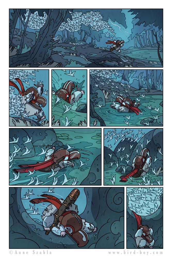 Bird Boy Volume II Page 9 by Nhaar