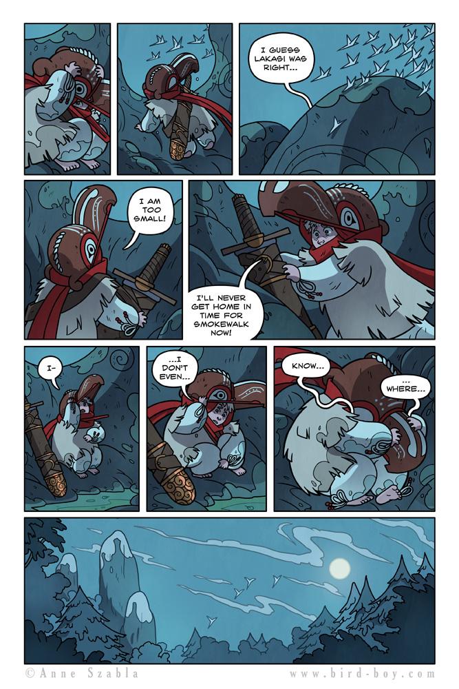 Bird Boy Volume II Page 10 by Nhaar