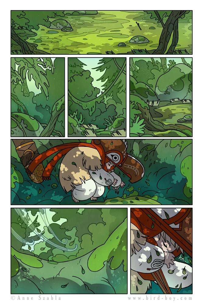 Bird Boy Volume II Page 11 by Nhaar