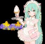 Pinku  Miku Ice Cream