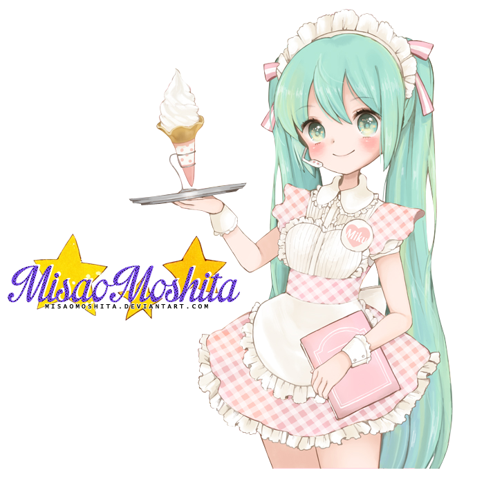 30 Renders Gourmands  Pinku__miku_ice_cream_by_misaomoshita-d7ezd29
