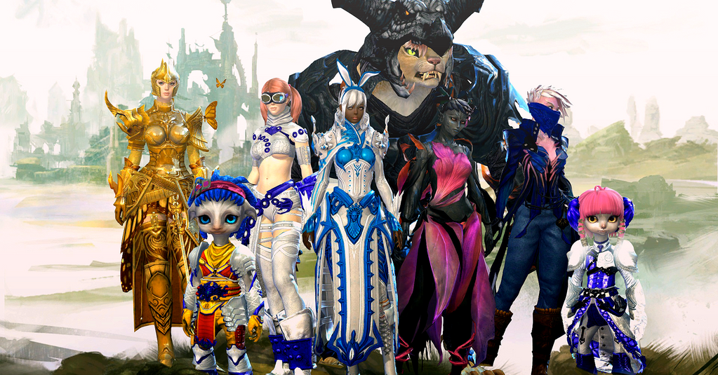 Guild Wars 2 Anime Characters : Guild wars characters by misaomoshita on deviantart