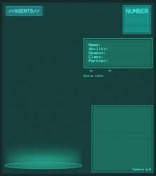 AGENTS - Profile Template by Dedmerath