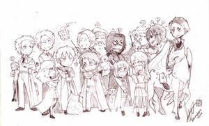 Harry Potter Crew - COMMISSION