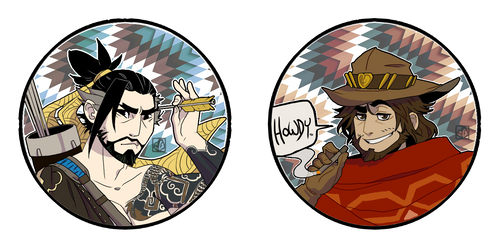 McHanzo Buttons
