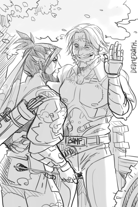 Mchanzo - Careful with those arrows by Dedmerath