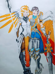 Pals for Life: Mercy  Furia by A-thonX