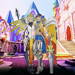 Furia and Mercy with background by A-thonX
