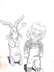 Age Gap: The Velveteen Rabbit/Chucky by A-thonX