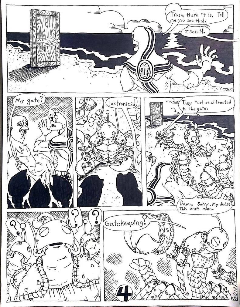 Captain Kekistan #5 Page #4 by A-thonX