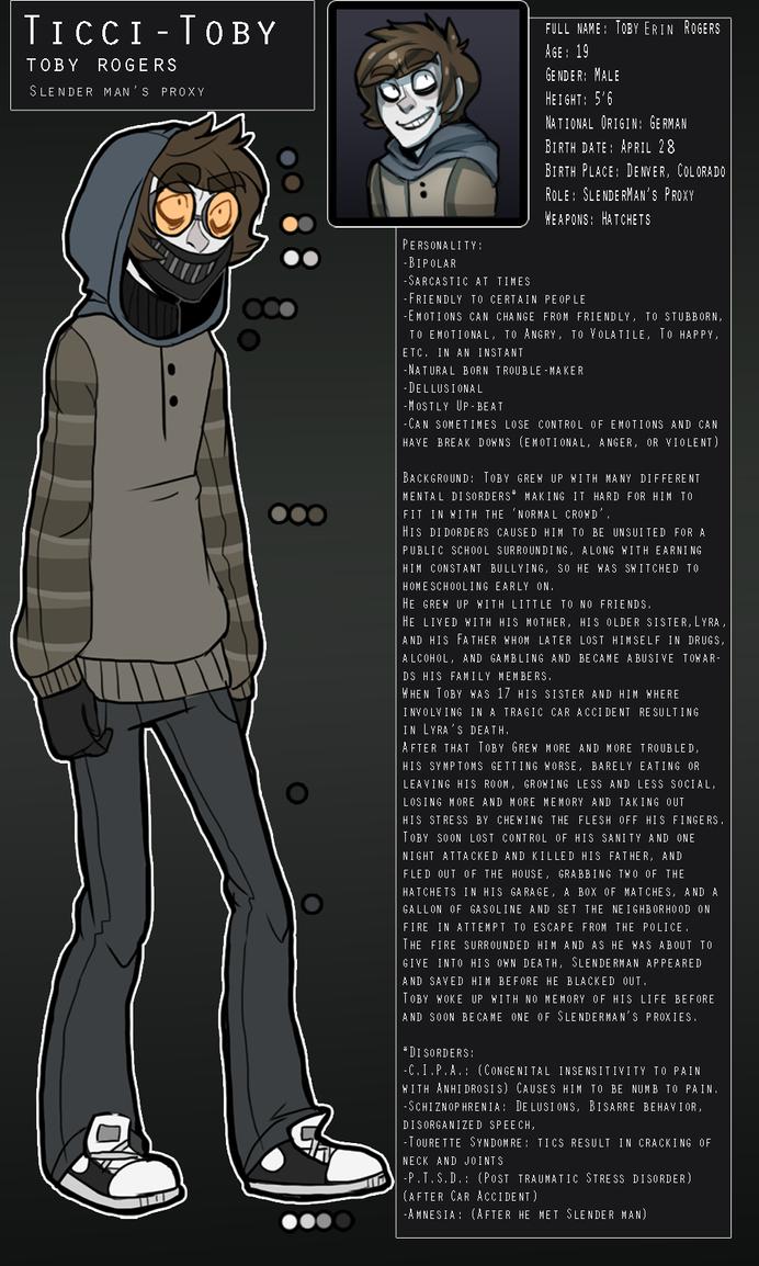 Ticci-Toby Profile Translation (German) by