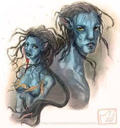 avatar na'vi by la-maiii