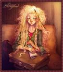 Luna Lovegood illustration