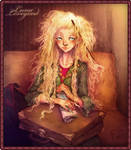 Luna Lovegood illustration