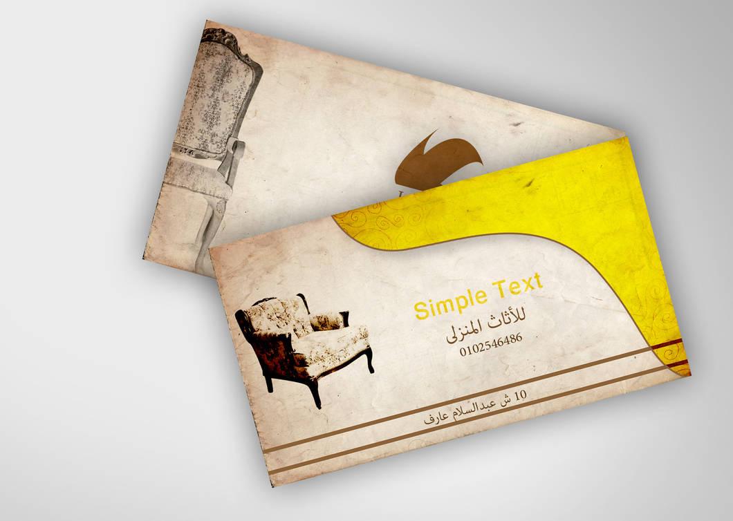 Business card Furniture by Bondok421