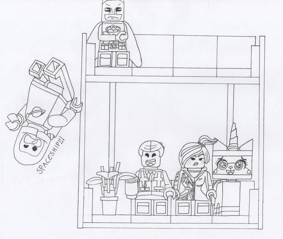 The Lego Movie (Request) by themsgothgirl