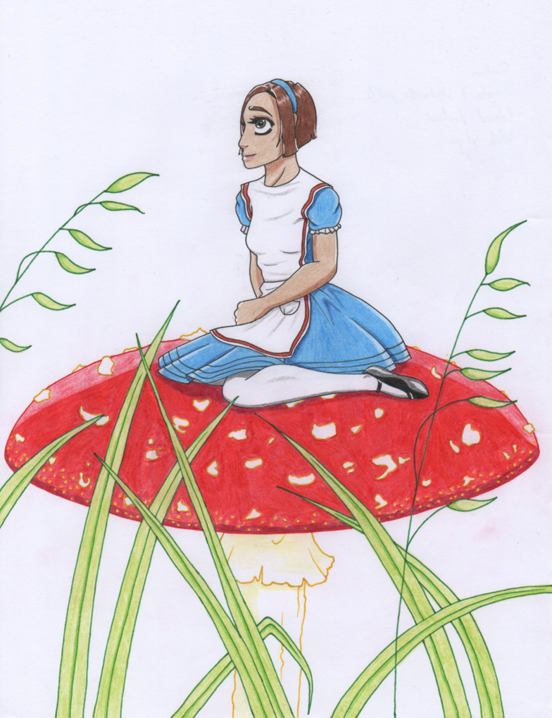 Hannah in Wonderland - Request by themsgothgirl