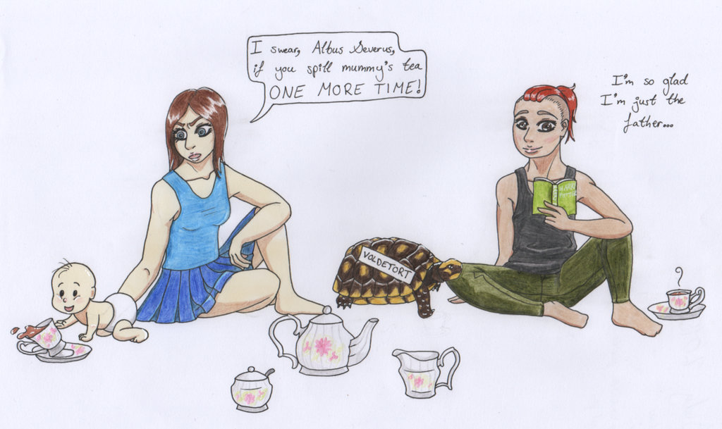 Tea Party - Request by themsgothgirl