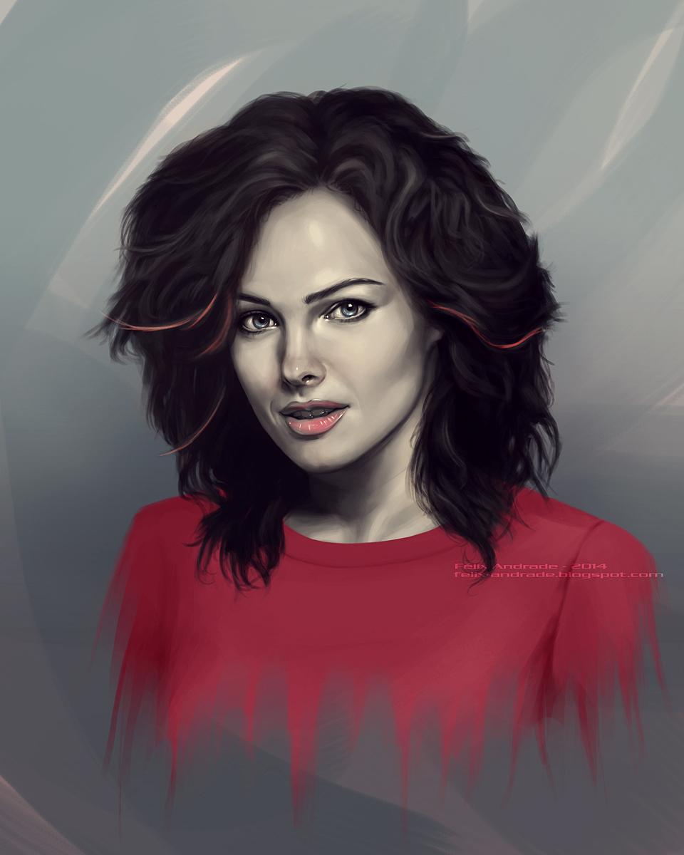 Dina meyer 2014