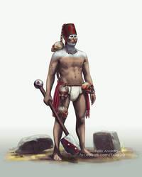 Sechin warrior