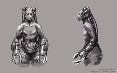 Alien - Character design