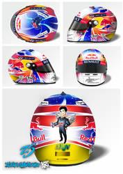 Mark Webber helmet design 1 by ZlatkaS