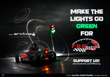 Make the lights go green for FSB Racing Team by ZlatkaS