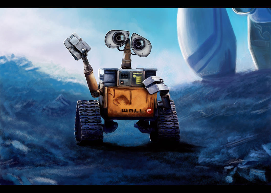 Directive... Wall-E by MishaART
