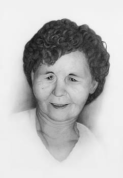 My wive's grandma...