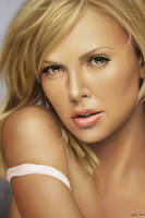 Charlize Theron - Comission by MishaART