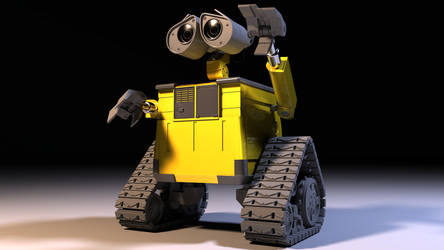 WALL-E finished model