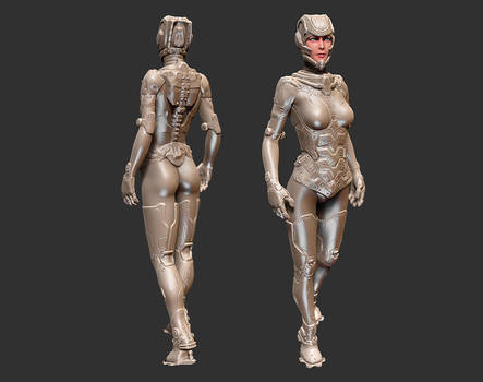 Sci-fi character concept