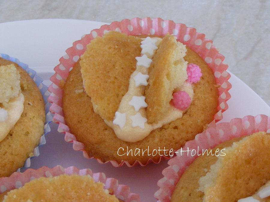 Butterfly Cakes by Charlotte-Holmes