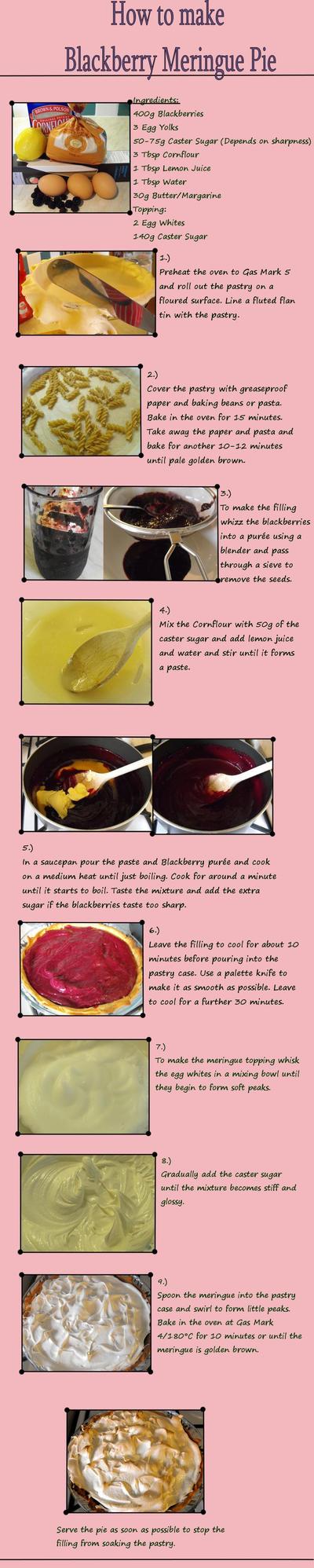 Blackberry Meringue Pie Tut by Charlotte-Holmes