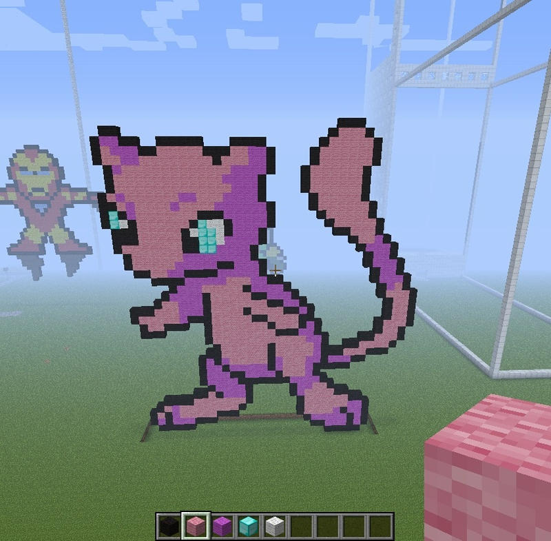 Pacman Pixel Art Minecraft Minecraft Pixel Art Pokemon