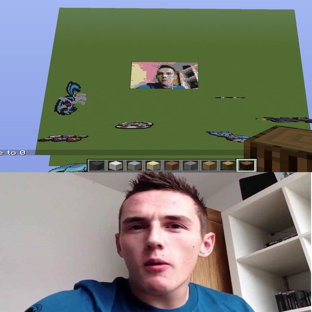 Minecraft Pixel Art Hard