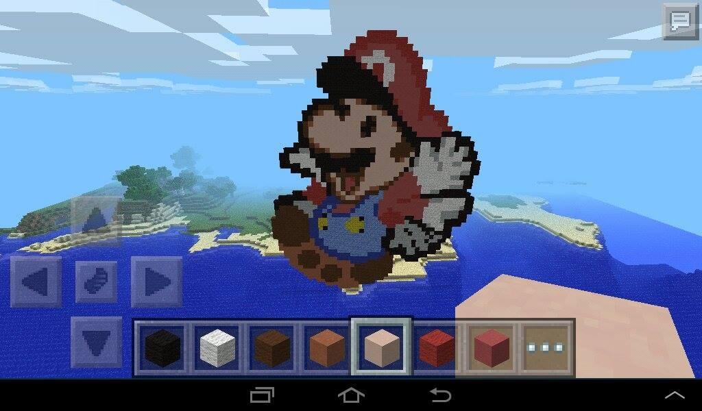 Mario Minecraft Pixel Art By Rest In Pixels On Deviantart