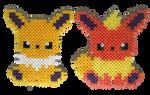 Eeveelutions (updated) by Rest-In-Pixels