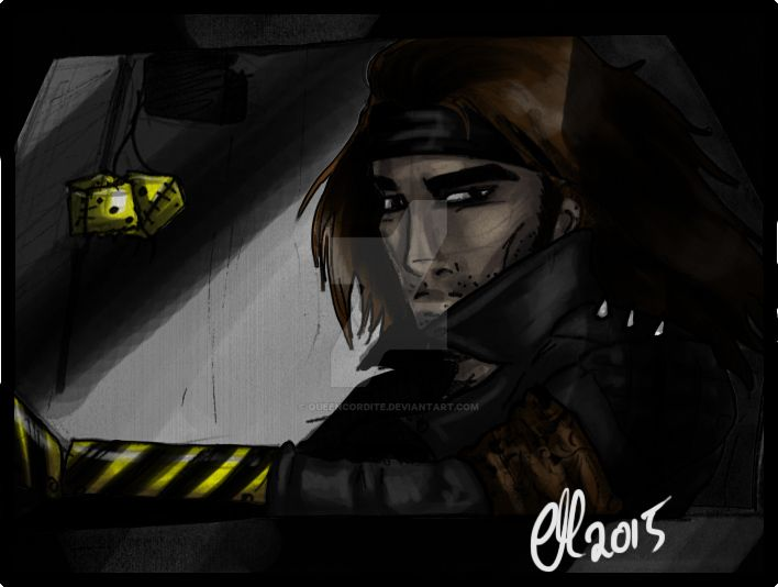 Panel: The Driver by DrowElfRocker
