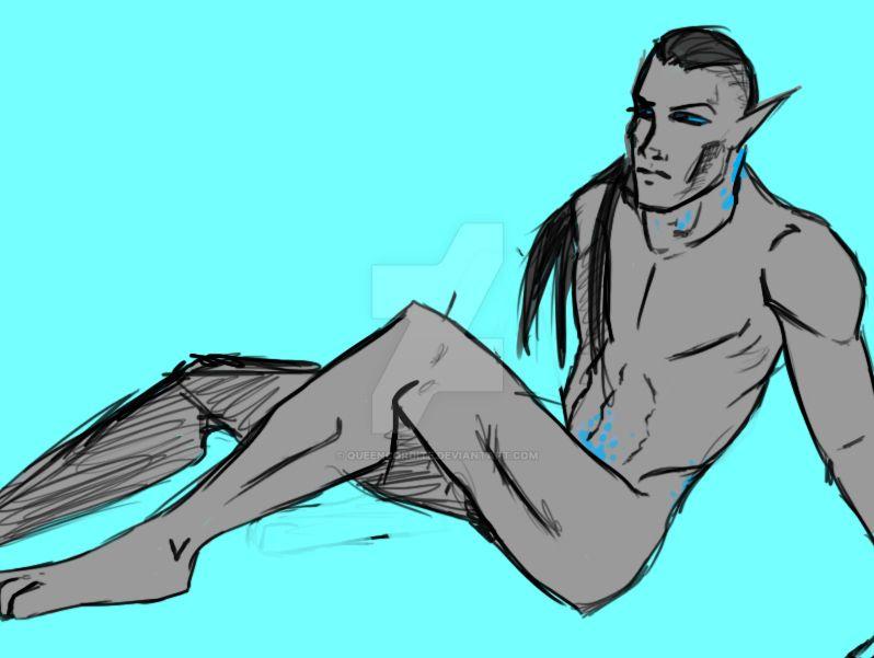 Raiukan sketch/doodle by QueenCordite